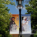 Grand Ole Opry Flags Nashville by Susanne Van Hulst