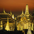 Grand Palace And Temple Of The Emerald by Paul Chesley