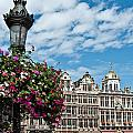 Grand Place Flowers by Jim Chamberlain