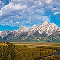 Grand Teton Vista by Adam Pender