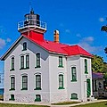 Grand Traverse Lighthouse by Ted Lepczynski