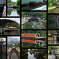 Grand Union Canal Collage by Chris Day