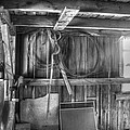 Grandfathers Barn by Christopher McPhail