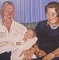 Grandpa And Grandma by Bryan Bustard