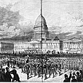 Grants Inauguration, 1873 by Granger