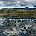 Gravel Lake, North Klondike Highway by Robert Postma