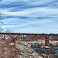 Great Falls Rr Bridge 10477c by Guy Whiteley