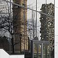 Great Northern Clocktower Reflection - Spokane Washington by Daniel Hagerman