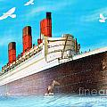 Great Ocean Liner by Belinda Threeths