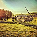 Great Photo Of Some Old #farm Tools by Pete Michaud