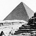 Great Pyramid Of Giza - Egypt - C 1926 by International  Images