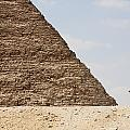 Great Pyramid Of Khufu Cheops And Camel by Peter Langer
