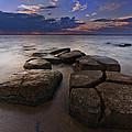 Great South Bay Sunset by Rick Berk