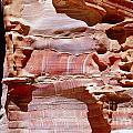 Great Wall Of Petra Jordan by Eva Kaufman