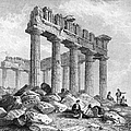 Greece: The Parthenon 1833 by Granger