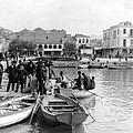 Greek Immigrants Fleeing Patras Greece - America Bound - C 1910 by International  Images