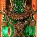 Green Buddha by Bob Christopher