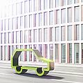 Green Car by Jorg Greuel