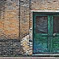 Green Doors by Frances Hattier