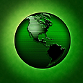 Green Earth by Mike Agliolo and Photo Researchers