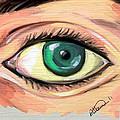 Green Eye by Alban Dizdari