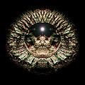 Green Eye Sphere by David Kleinsasser