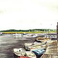 Green Harbor by Paul Gardner