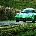 Green Porsche by Alain De Maximy