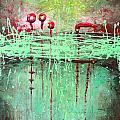 Green Splashes by Lolita Bronzini