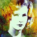 Greta Garbo Abstract Pop Art by Steve K