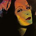 Greta Garbo Pop Art by Steve K