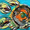 Gretchen Fish A Citrus Twist by J Vincent Scarpace