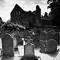 Greyabbey Abbey Ruin Graveyard Cemetary Ireland by Joe Fox