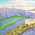 Griffith Observatory by Tracy Dennison