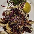 Griiled Fresh Greek Octopus by David Smith