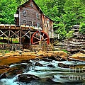 Grist Mill At Babcock by Adam Jewell