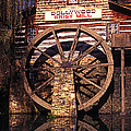 Grist Mill In The Smokies by Paul W Faust -  Impressions of Light
