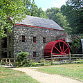 Grist Mill  Massachusetts by Patricia Urato