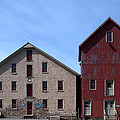 Gristmill At Prallsville Mills by Steven Richman
