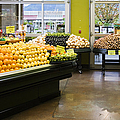 Grocery Store Produce Section by Andersen Ross