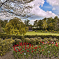 Grounds At Leeds Castle  by Jon Berghoff