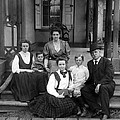 Grover Cleveland And His Family, 1907 by Everett