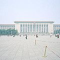 Grteat Hall Of The People In Beijing In China by Shaun Higson