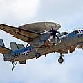 Grumman E-2 Hawkeye by Bill Lindsay
