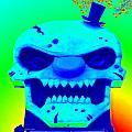 Grunge City Demon 1 by Randall Weidner