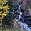 Guanella Falls by Jim Garrison
