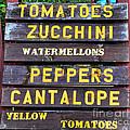 Guaranteed Farm Fresh Foods  by Paul Ward