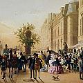 Guerard: Cafe Tortoni, 1856 by Granger