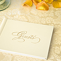 Guestbook On A Table by Ned Frisk