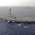 Guided Missile Destroyers Uss Dewey by Stocktrek Images
